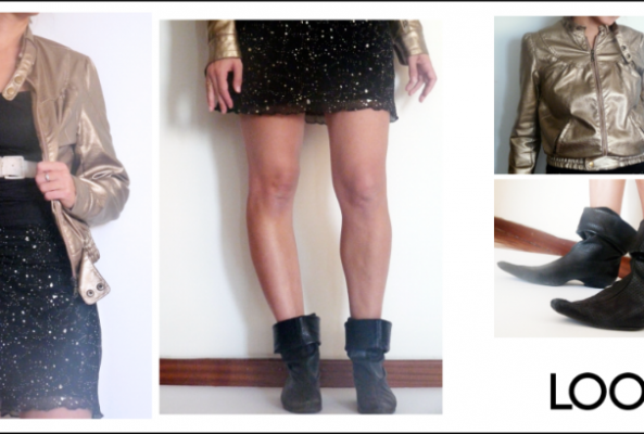 Como actualizar una falda antigua / How to bring an old skirt up to date