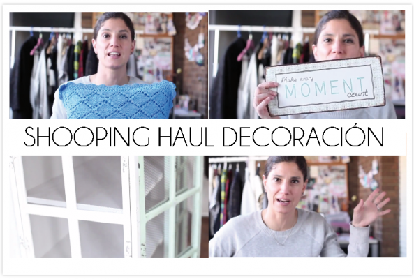 Shopping Haul decoración